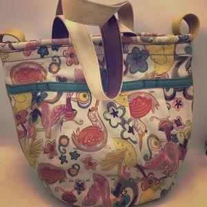Adorbs! Lucky canvas purse!